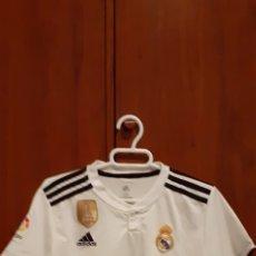 Coleccionismo deportivo: EQUIPACION DEL REAL MADRID, N° 20 ASENSIO, TALLA 28. Lote 284659128