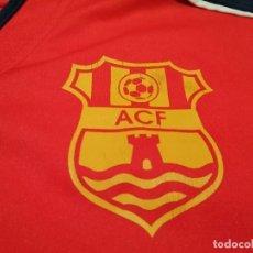 Coleccionismo deportivo: CAMISETA ACF (MATCH WORN PLAYER BONMATÍ). Lote 285684358