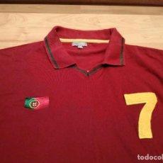 Coleccionismo deportivo: CAMISETA SELECCIÓN PORTUGAL (ESTILO VINTAGE). Lote 285688908