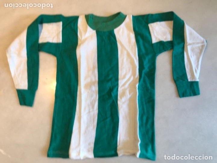 CAMISETA FÚTBOL NIÑO. AÑOS 60. REAL BETIS BALOMPIÉ (Coleccionismo Deportivo - Ropa y Complementos - Camisetas de Fútbol)