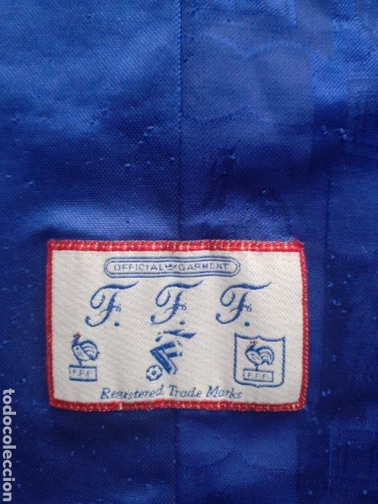 Coleccionismo deportivo: Original   Futbol   Talla XL   Camiseta de la seleccion de Francia años 90 - Foto 2 - 287139583