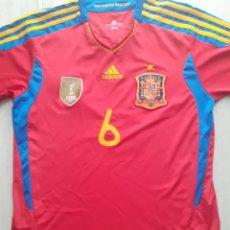 Coleccionismo deportivo: CAMISETA ADIDAS SELECCIÓN ESPAÑOLA 2011 INIESTA 6. Lote 287140248