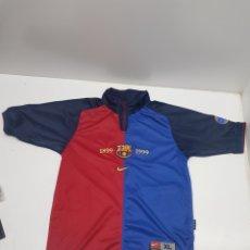 Colecionismo desportivo: CAMISETA F.C. BARCELONA TEMPORADA 1999/2000 CENTENARIO. Lote 287399503