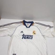 Colecionismo desportivo: CAMISETA REAL MADRID TEKA CHAMPIONS EUROPA 2000. Lote 287399573