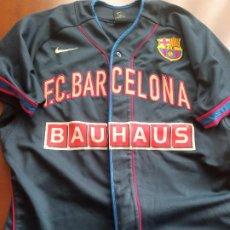 Colecionismo desportivo: FC BARCELONA BEISBOL BASEBALL MATCH WORN M CAMISETA FUTBOL FOOTBALL SHIRT. Lote 287453028