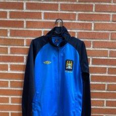 Coleccionismo deportivo: CHAQUETA FUTBOL ORIGINAL/OFICIAL MANCHESTER CITY. Lote 287767118