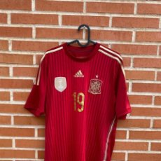 Coleccionismo deportivo: CAMISETA ORIGINAL FUTBOL ESPAÑA 2014 #19 DIEGO COSTA. Lote 287767338