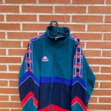 Coleccionismo deportivo: CHAQUETA FUTBOL ORIGINAL/OFICIAL BARCELONA 1995. Lote 287770823