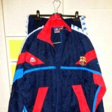 Collezionismo sportivo: CHANDAL TRACKSUIT ANTIGUO FUTBOL FOOTBALL VINTAGE AÑOS 90 DREAM TEAM FC BARCELONA ORIGINAL KAPPA. Lote 288660098