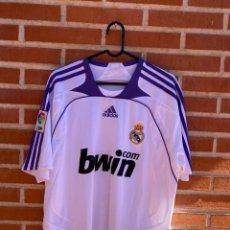 Coleccionismo deportivo: CAMISETA FÚTBOL ORIGINAL REAL MADRID 2007 SAVIOLA. Lote 288669013