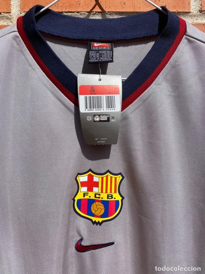 Coleccionismo deportivo: Camiseta fútbol original Barcelona 1999-2001 NUEVA - Foto 2 - 288669778