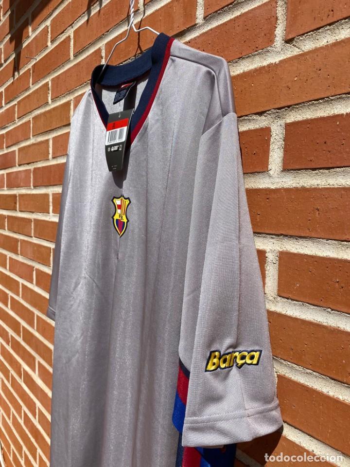 Coleccionismo deportivo: Camiseta fútbol original Barcelona 1999-2001 NUEVA - Foto 4 - 288669778