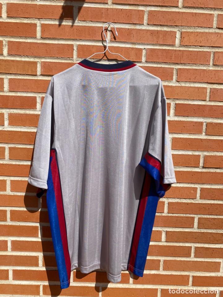 Coleccionismo deportivo: Camiseta fútbol original Barcelona 1999-2001 NUEVA - Foto 5 - 288669778
