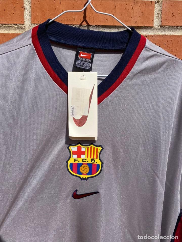 Coleccionismo deportivo: Camiseta fútbol original Barcelona 1999-2001 NUEVA - Foto 2 - 288669868