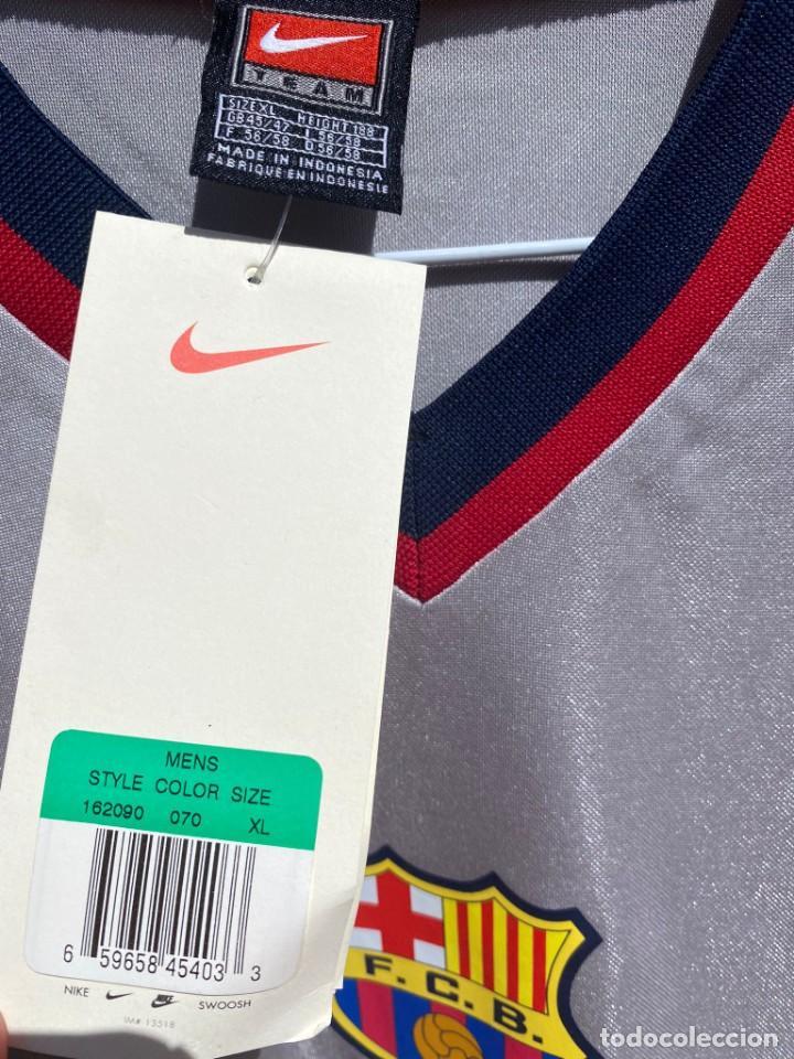 Coleccionismo deportivo: Camiseta fútbol original Barcelona 1999-2001 NUEVA - Foto 4 - 288669868