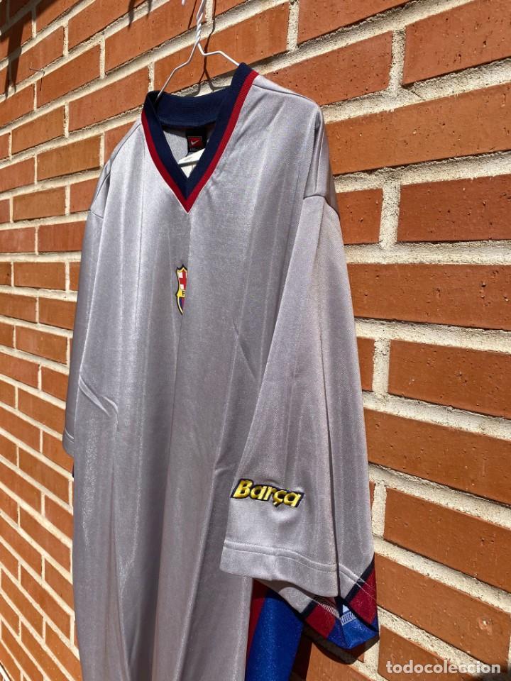 Coleccionismo deportivo: Camiseta fútbol original Barcelona 1999-2001 NUEVA - Foto 5 - 288669868