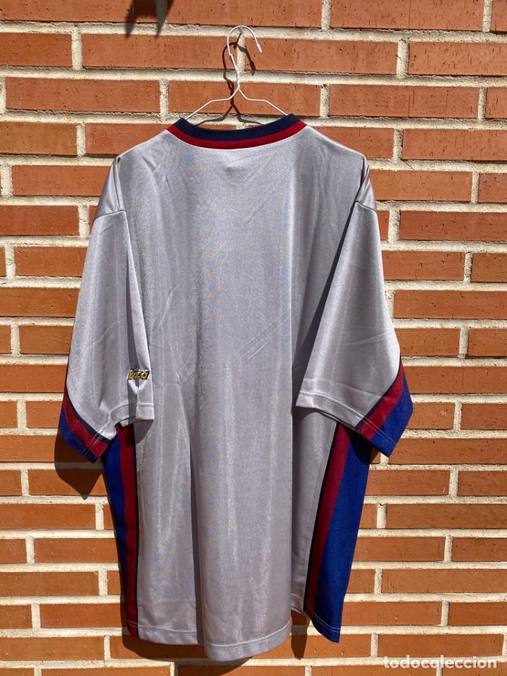 Coleccionismo deportivo: Camiseta fútbol original Barcelona 1999-2001 NUEVA - Foto 6 - 288669868