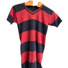 Coleccionismo deportivo: CAMISETA DE RUGBY MATCH WORN DEL F.C.BARCELONA 1930'S.. Lote 289228198