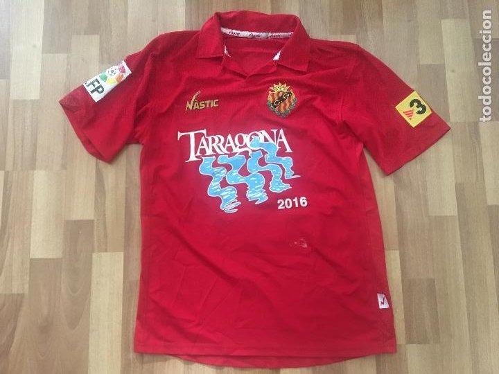 CAMISETA FUTBOL NASTIC GIMNASTIC DE TARRAGONA DORSAL 9 PORTILLO (Coleccionismo Deportivo - Ropa y Complementos - Camisetas de Fútbol)