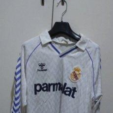 Coleccionismo deportivo: REAL MADRID 7 BUTRAGUEÑO HUMMEL PARMALAT CAMISETA. Lote 293151208