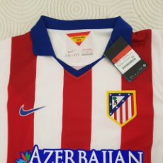 Coleccionismo deportivo: CAMISETA RETRO ATLETICO DE MADRID NUEVA SIN USO CONSERVA SU ETIQUETA TALLA L. Lote 293422913