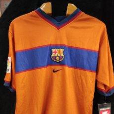 Coleccionismo deportivo: CAMISETA NIKE F.C.BARCELONA, BARÇA, 1999 CON ETIQUETA, SIN USAR. Lote 293483378