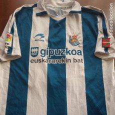 Coleccionismo deportivo: TAMUDO MATCH WORN REAL SOCIEDAD L RCD ESPANYOL CAMISETA SHIRT FUTBOL FOOTBALL. Lote 294562498