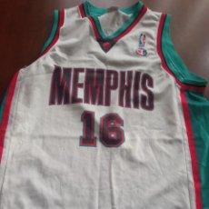 Coleccionismo deportivo: MEMPHIS GASOL NBA L CAMISETA BASKET BASQUET SHIRT. Lote 294562563