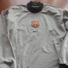 Coleccionismo deportivo: BONANO MATCH WORN FC BARCELONA GOALKEPPER PORTERO CAMISETA FOOTBALL SHIRT L. Lote 294565298