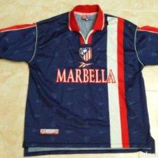 Coleccionismo deportivo: CAMISETA CLUB ATLÉTICO DE MADRID S.A.D-MARBELLA ( MARCA REEBOK-TALLA XL ). Lote 295359293
