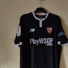 Coleccionismo deportivo: CAMISETA DE FUTBOL | ORIGINAL | TALLA M | SEVILLA FC - 12 JOHANNES GEIS - MATCH WORN. Lote 296628263