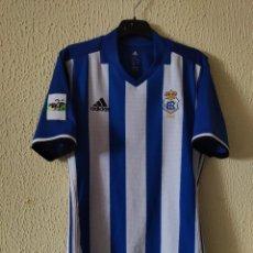Coleccionismo deportivo: CAMISETA DE FUTBOL | ORIGINAL | TALLA M | RECREATIVO DE HUELVA - DORSAL 17 - MATCH WORN. Lote 296628583