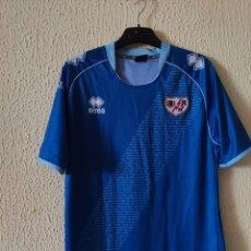 Coleccionismo deportivo: CAMISETA DE FUTBOL | ORIGINAL | TALLA M | RAYO VALLECANO - DORSAL 17 - MATCH WORN. Lote 296628718