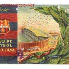 Coleccionismo deportivo: 1958. BONITO CARNET DEL CLUB DE FUTBOL BARCELONA BARÇA 1 T. Lote 26315146