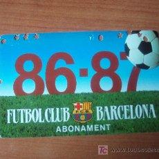 Coleccionismo deportivo: CARNET DEL F.C. BARCELONA. Lote 22781820