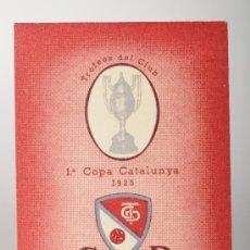 Coleccionismo deportivo: CARNET DE SOCIO DE FÚTBOL, C.D. TARRASA. Lote 26084479