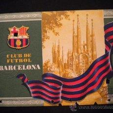 Coleccionismo deportivo: CARNET DE SOCIO DEL CLUB DE FUTBOL BARCELONA 1955.. Lote 31784435