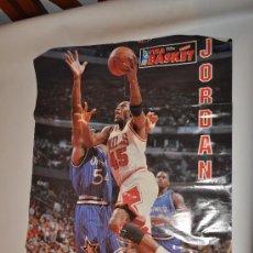 Coleccionismo deportivo: POSTER FIBA JORDAN NBA. Lote 32022936