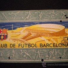 Coleccionismo deportivo: CARNET DE SOCIO DEL CLUB DE FUTBOL BARCELONA 1956 (2º TRIMESTRE). Lote 297275228