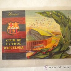 Coleccionismo deportivo: CARNET DE SOCIO DEL CLUB DE FUTBOL BARCELONA 3 TRIMESTRE 1958.. Lote 36422104