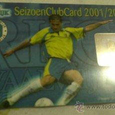 Coleccionismo deportivo: CARNET DE SOCIO RKC WAALWIJK 2001-2002. Lote 38401454