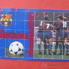 Coleccionismo deportivo: CARNET DE SOCIO DEL F.C.BARCELONA DEL AÑO 1.981 1.982. Lote 38602182