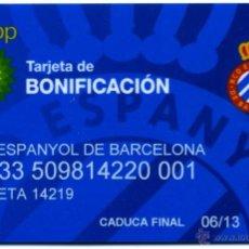 Coleccionismo deportivo: TARJETA RCD ESPANYOL DE BARCELONA. Lote 42553822