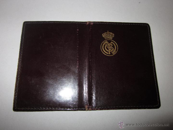 Coleccionismo deportivo: REAL MADRID C. DE F. - CARNET SOCIO - AÑO 1954 Y TARJETA DE 1960 - (V- 604) - Foto 4 - 43310209