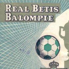 Coleccionismo deportivo: REAL BETIS BALOMPIE, CARNET SOCIO TEMPORADA 1969-1970. Lote 45005768