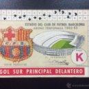 Coleccionismo deportivo: CARNET SOCIO FC BARCELONA TEMPORADA 1962-1963 62-63 - ABONAMENT BARÇA.. Lote 45578569