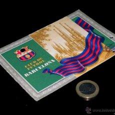 Coleccionismo deportivo: CARNET SOCIO ABONO CLUB FÚTBOL BARCELONA, 1º TRIMESTRE 1955.. Lote 46392561