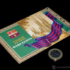 Coleccionismo deportivo: CARNET SOCIO ABONO CLUB FÚTBOL BARCELONA, 2º TRIMESTRE 1955.. Lote 46392573