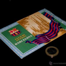 Coleccionismo deportivo: CARNET SOCIO ABONO CLUB FÚTBOL BARCELONA, 4º TRIMESTRE 1955.. Lote 46392593