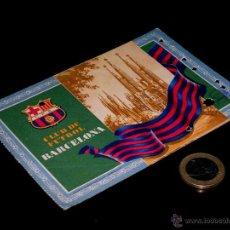 Coleccionismo deportivo: CARNET SOCIO ABONO CLUB FÚTBOL BARCELONA, 4º TRIMESTRE 1955.. Lote 46392604